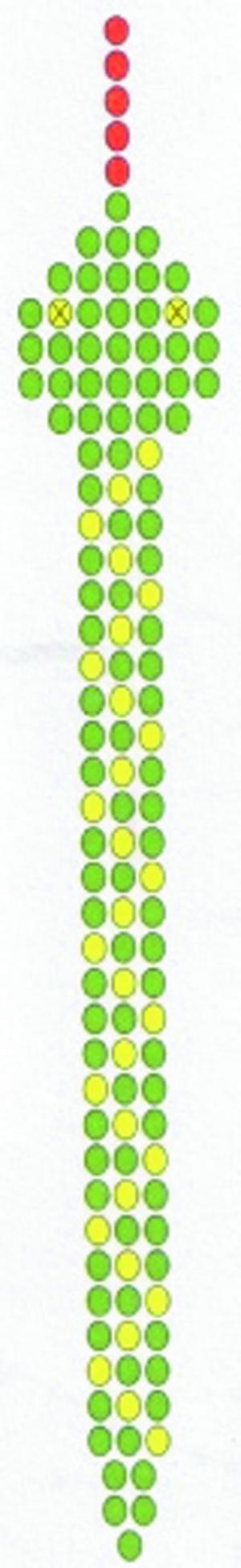Схема плетения змейки