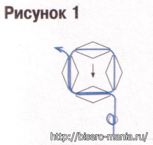 схема брелока в виде шара