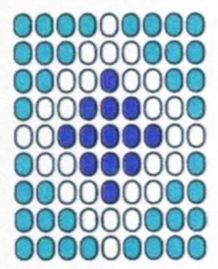 Схема плетения медальона