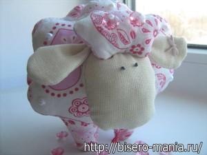 как сшить овечку из ткани